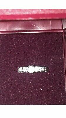 Beautiful 18ct Gold And 5 Stone Diamond Ring Size J Used With Gift Box 2.6g • 199£