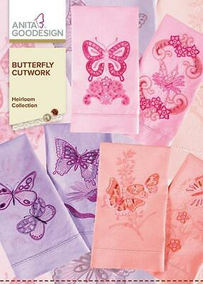 $13.99 • Buy Butterfly Cutwork Anita Goodesign Embroidery Machine Design CD NEW 115AGHD