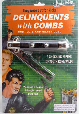 AU17.19 • Buy Accoutrements Delinquents Switchblade Comb 17639