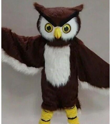 Adult Bird Eagle Party Mascot Costume Christmas Cosplay Fancy Dress Suit Parade • 202.44£