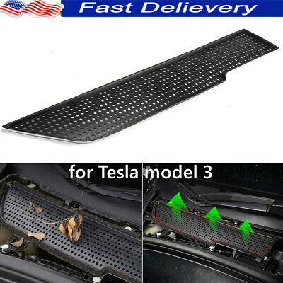 $13.79 • Buy For Tesla Model 3 2017-19 Car Air Flow Vent Cover Moulding Protector Accessories