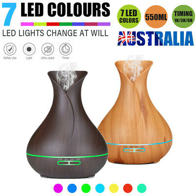 AU17.09 • Buy LED Essential Oil Diffuser Ultrasonic Humidifier Air Aroma Purifier Aromatherapy