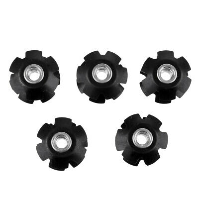 5Pcs/Set Replacement 1 1/8  Stunt Scooter Ahead Headset Star Fangled Nuts • 3.76£