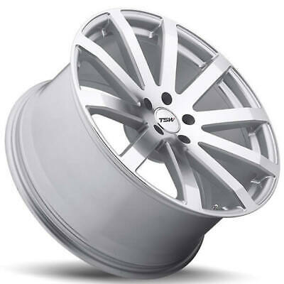 $1443 • Buy 4ea 20  Staggered TSW Wheels Brooklands Silve Rims (S1)