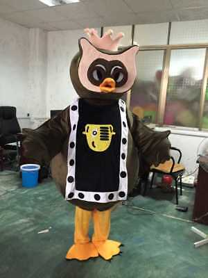 Eagle Mascot Costume Cosplay Halloween Fancy Dress Adult Size Xmas Clothing Gift • 130.63£
