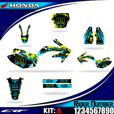 $125 • Buy  Honda Crf 450r Decals Graphics Stickers 2002 03 04 05 06 07 08 09 10 11... 2016