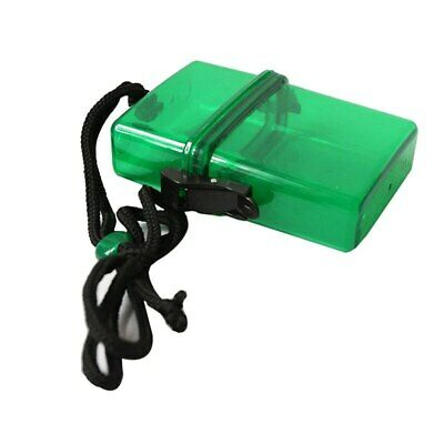 Waterproof Plastic Key Money Phone Container Case Portable Outdoor Camping  • 5.47£