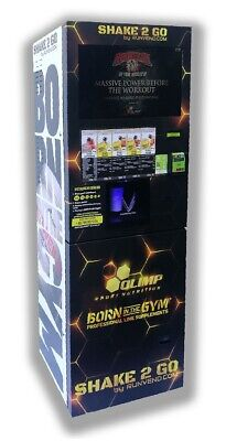 £2799 • Buy NEW Protein Gym Vending Machine Mixing Shakes LCD 22'' Preworkout Amino BCAA