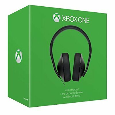£17.99 • Buy Official Xbox One / Series X Headset Stereo Genuine Microsoft NEW (No Adapter)