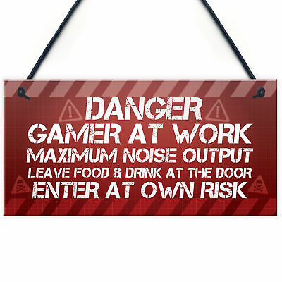 £3.99 • Buy Novelty Gaming Accessories Gaming Gifts For Boys Bedroom Christmas Gift Brother