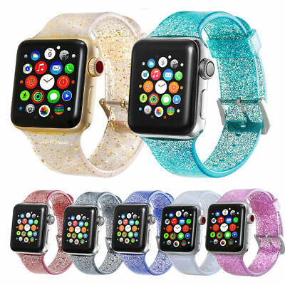 AU12.99 • Buy Silicone TPU Sport Strap Band For Apple Watch IWatch Series 6 5 4 3 2 1 40/44mm