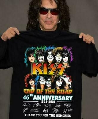 KISS End Of The Road 46th Anniversary T-Shirt S-5XL • 19.99$