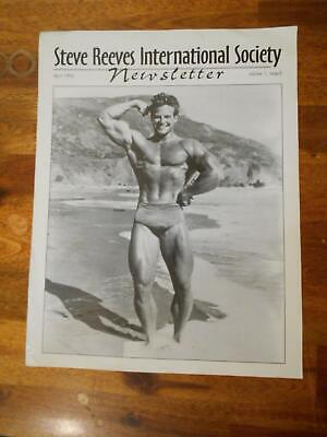 £35.79 • Buy STEVE REEVES Newsletter Bodybuilding Muscle ISSUE #2 Magazine Booklet 4-95