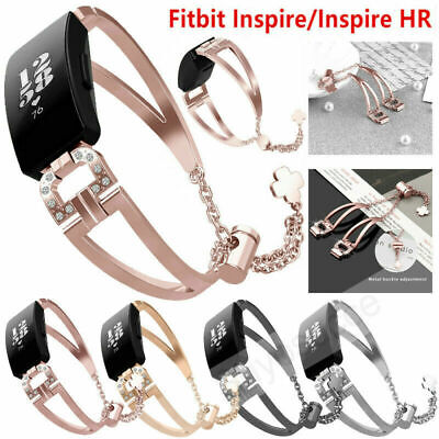 AU19.99 • Buy For Fitbit Inspire /HR Stainless Steel Replacement Metal Wrist Band Watch Strap