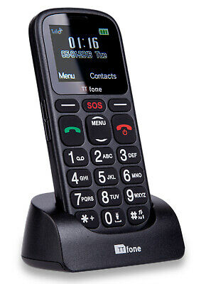 TTfone Comet Big Button Senior Pay As You Go Mobile Phone With Loud Volume & SOS • 19.99£