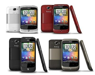 £16.99 • Buy HTC Wildfire Black Mocha Red White Silver Android Smartphone - Warranty