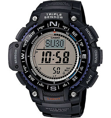 $79 • Buy Casio SGW1000-1A, Compass, Thermometer, Altimeter, 5 Alarms, World Time, Chrono