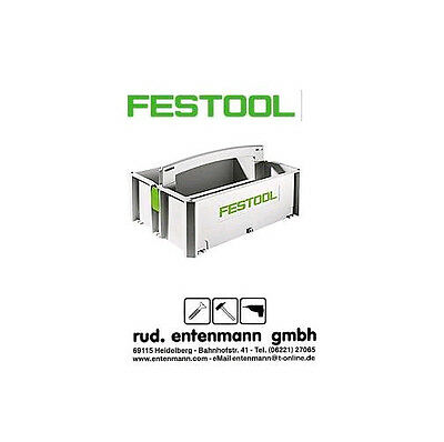 Festool Tanos Systainer Toolbox SYS-TB-1 No. 495024 Tool Box • 38.67£