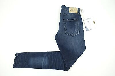 Prps Goods & Co Faded Dark Blue 32 Stretch Slim Fit Jeans Mens Nwt New • 94.89£