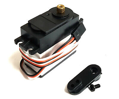 E1201 12kg High Torque Thottle Steering RC Car Servo Metal Gear 1/10 1/8 Scale  • 9.99£