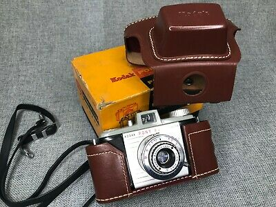 $ CDN35.19 • Buy Vintage KODAK PONY 828 Camera With Leather Field Case & Box