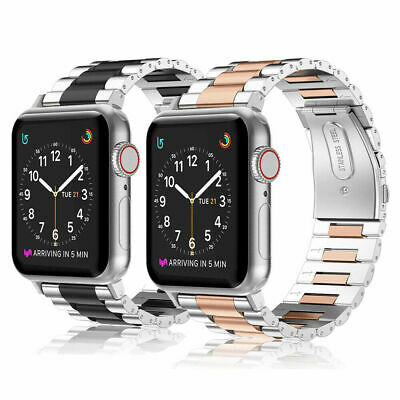 AU16.99 • Buy Watch Band Stainless Steel Strap For Apple Watch IWatch Series 5/4/3/2/1 38-44mm