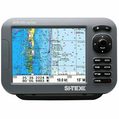 £570 • Buy SI-TEX SVS-880C 8 Inch Color GPS Chartplotter Preloaded With Navionics+ Chart