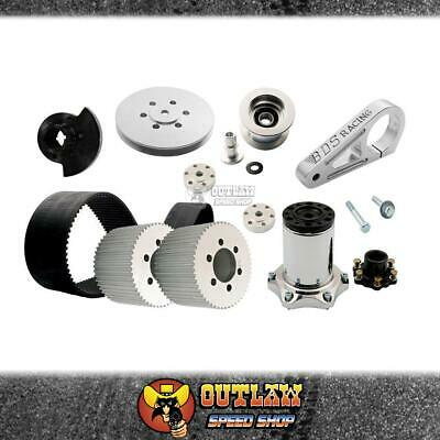 AU3059.85 • Buy Bds Blower Drive Kit Fits Ford 302-351 1v Pulley 6-71 8-71 8mm Polished