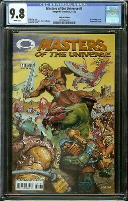 $79.95 • Buy Masters Universe #1 Cgc 9.8 Appearance Cameo Invincible Preview Gold Foil Nm/mt