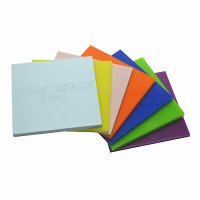 £3.57 • Buy Acrylic Perspex® Sheet 3mm Plastic Cut To Size / 100+ Colours / A5 A4 + Custom