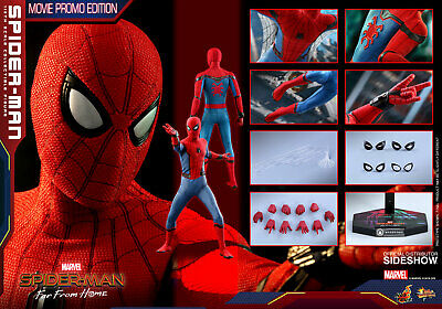 HOT TOYS MARVEL SPIDER-MAN FAR FROM HOME MOVIE PROMO EDITION 1:6 FIGURE ~Sealed~ • 329.99$