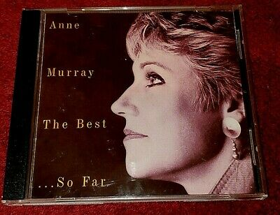 THE BEST...SO FAR  By ANNE MURRAY CD In Original Case!!! ***FREE SHIPPING*** • 3.99$