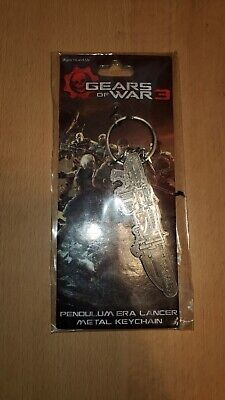 $6.99 • Buy PENDULUM ERA LANCER Gears Of War 3 3  Inch Metal Key Chain Keychain Neca 2011