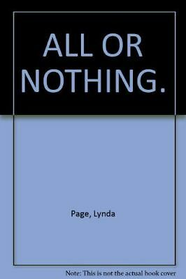 £3.89 • Buy Page, Lynda, All Or Nothing: Friendship And Love Are Tested In This Gripping Sag