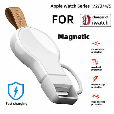$ CDN15.69 • Buy Portable Magnetic Wireless Fast Charger For Apple Watch IWatch Series 5 4 3 2 1