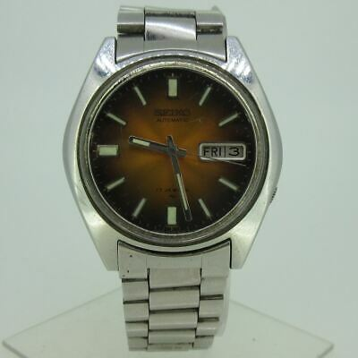 $ CDN92 • Buy Vintage Seiko Automatic 17J 7009-8049 Day-Date Stainless Steel Watch Parts
