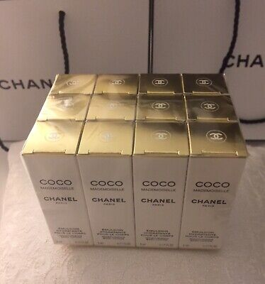 Pack Of 12 Chanel Coco Mademoiselle Moisturizing Body Lotion 5ml / 0.17oz Each • 69.99$