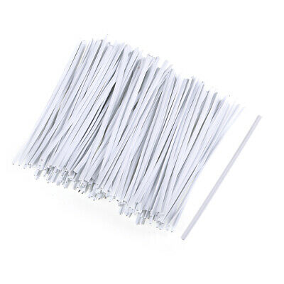 £7.47 • Buy 3 Inches Plastic Twist Ties Reusable Cable Cord Wire Ties White 500pcs For Candy