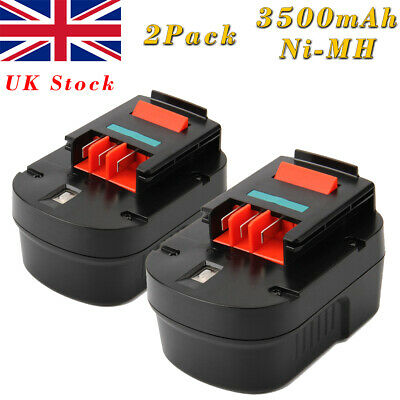2X 12V 3.0AH Ni-MH Battery For Black Decker A12 A1712 A12-XJ Firestorm FS120B • 35.91£