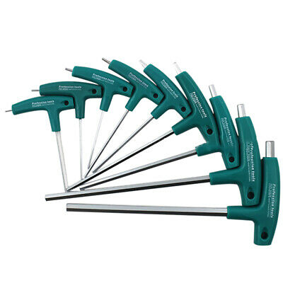 AU8.29 • Buy T-Handle Allen Wrench Set 1.5mm-10mm Hex Key Wrench Tool Great For Bikes Cars