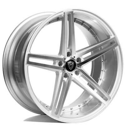 $1499 • Buy 4ea 22  Marquee Wheels M5334 Silver Machined Rims (S5)