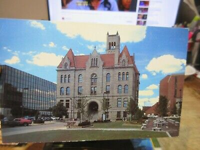 $2 • Buy Vintage Old WEST VIRGINIA Postcard Parkersburg Wood County Courthouse Building