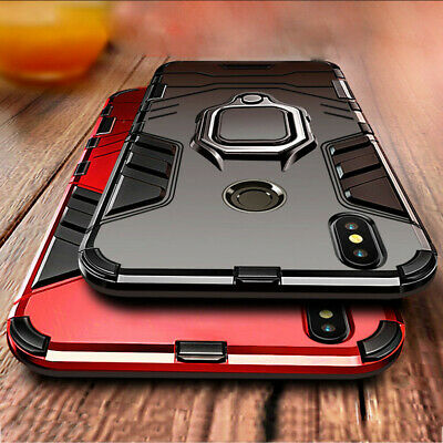 Hybrid Shockproof Armor Cover Case For Huawei Y6 P30 Pro P40 Lite P Smart 2019 • 2.99£