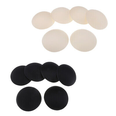 6 Pairs Round Enhancer Pads Sponge Insert Bra Swimsuit Breast Replacements • 4.52£