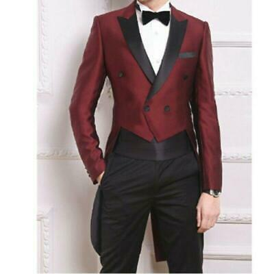 $ CDN141.79 • Buy Men's Tail Coat Tuxedo Bling Wedding Suit Jacket Formal Dress Club Jacket Blazer