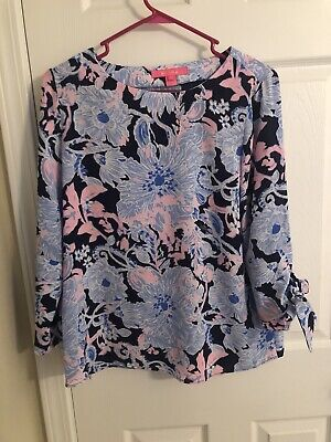 Lilly Pulitzer Langston Top Amore Please • 40$
