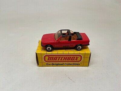 $11.99 • Buy Matchbox-#mb39-bmw Cabriolet 323l--red--with Box-never Played With-look-