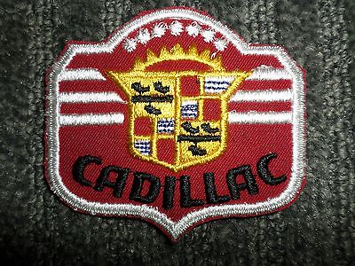 NOS Vintage Cadillac Patch - 3 Inches X 3 1/4 Inches • 5.99$
