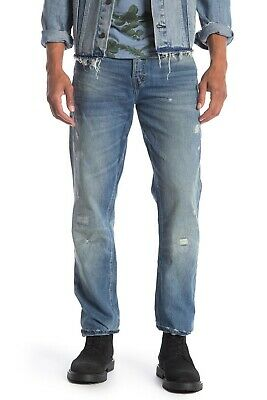 Prps Demon Mid Rise Light Wash Slim Fit Jeans Size 38 • 64.34£