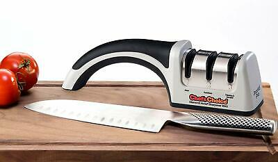 Chef'sChoice 4643 ProntoPro Diamond Hone Manual Knife Sharpener Extremely Fast • 41.97$